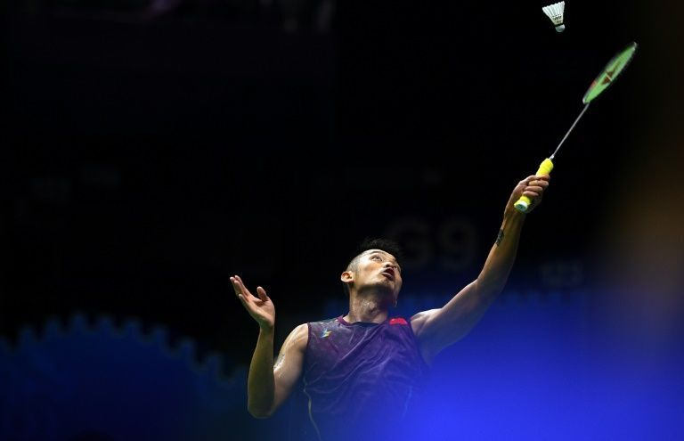 As well as the double Olympic golds, Lin was also a five-time world champion and a long-time former world number one. PHOTO: AFP