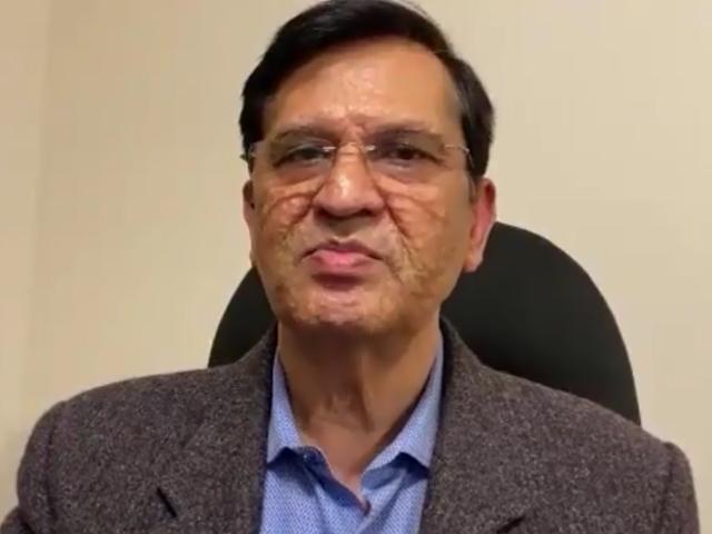 Dr Naqeeb Khalid. SCREENGRAB