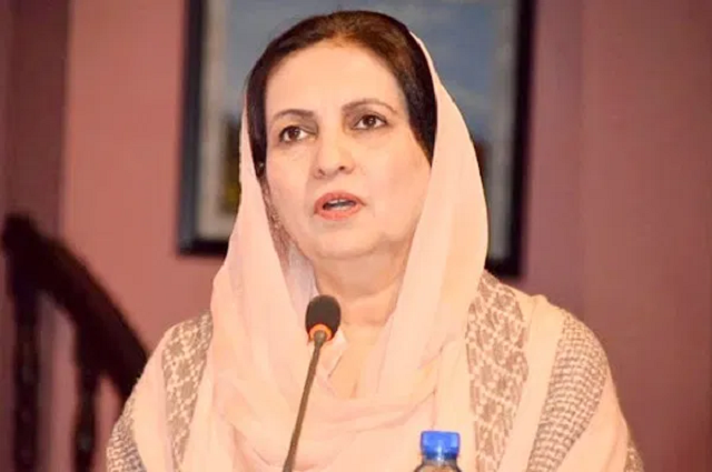 parliamentary secretary for ministry of national health services nausheen hamid photo app file