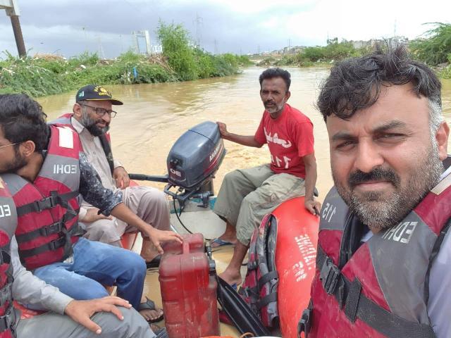 social welfare organisations the saviour of rain hit karachi