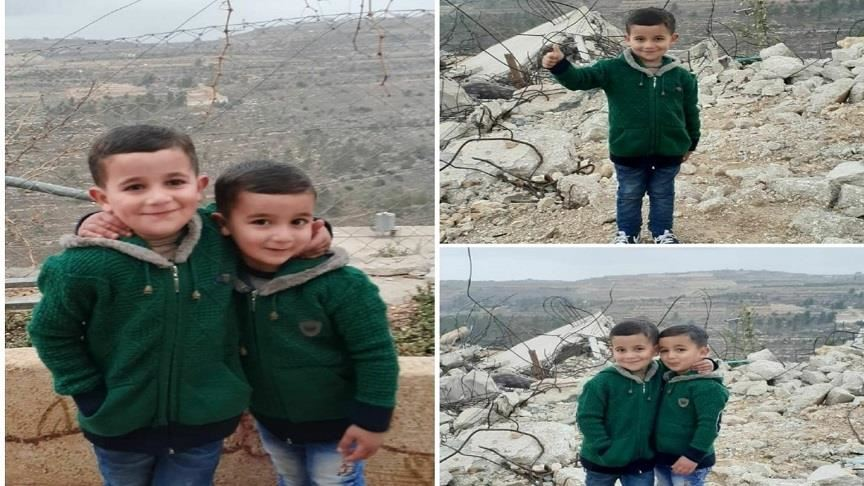 eid without parents palestinian kids stare at israeli jails