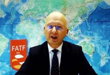 fatf president dr marcus pleyer addresses the webinar screengrab