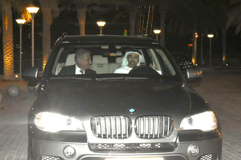 fm shah mehmood qureshi held talks with his uae counterpart sheikh abdullah bin zayed al nahyan photo twitter smqureshipti