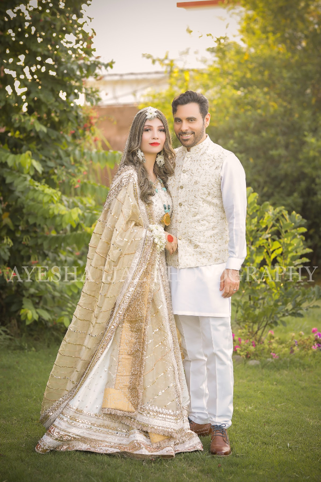 in pictures haroon rashid ties the knot in a small ceremony