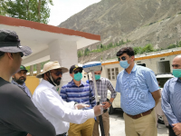 Glacier Ground Truthing team is led by Abdul Basit with technical expertise from Dr Farukh Bashir and Dr Atif Wazir of PMD. PHOTO: EXPRESS