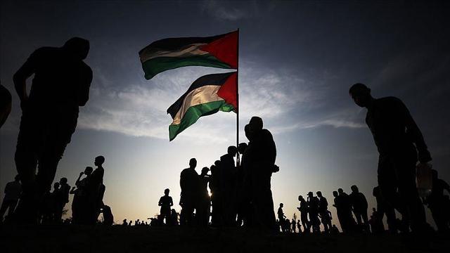 gazans rally against israeli plan to annex west bank