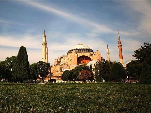 turkey will inform unesco about hagia sophia moves says minister