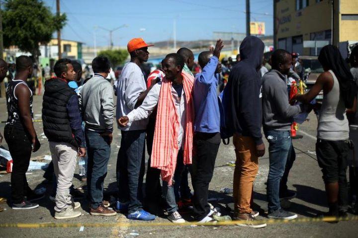 Resultado de imagen de U.S. expels dozens of Haitian asylum seekers to Mexico