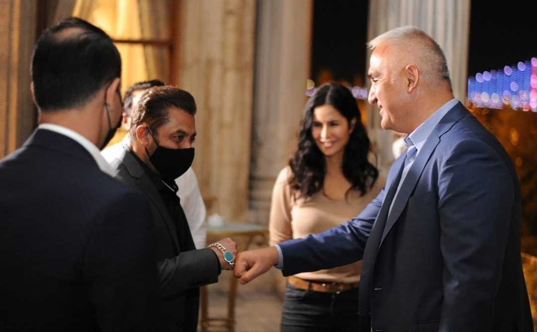 Salman and Katrina meet with Turkish Minister of Culture and Tourism