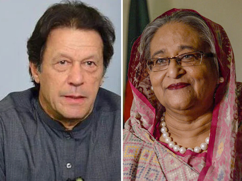 pakistan bangladesh premiers hold rare telephonic talk