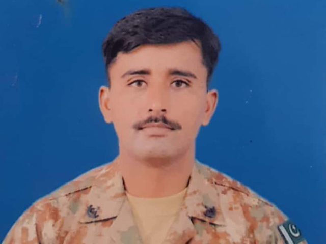 soldier martyred in awaran anti terror operation