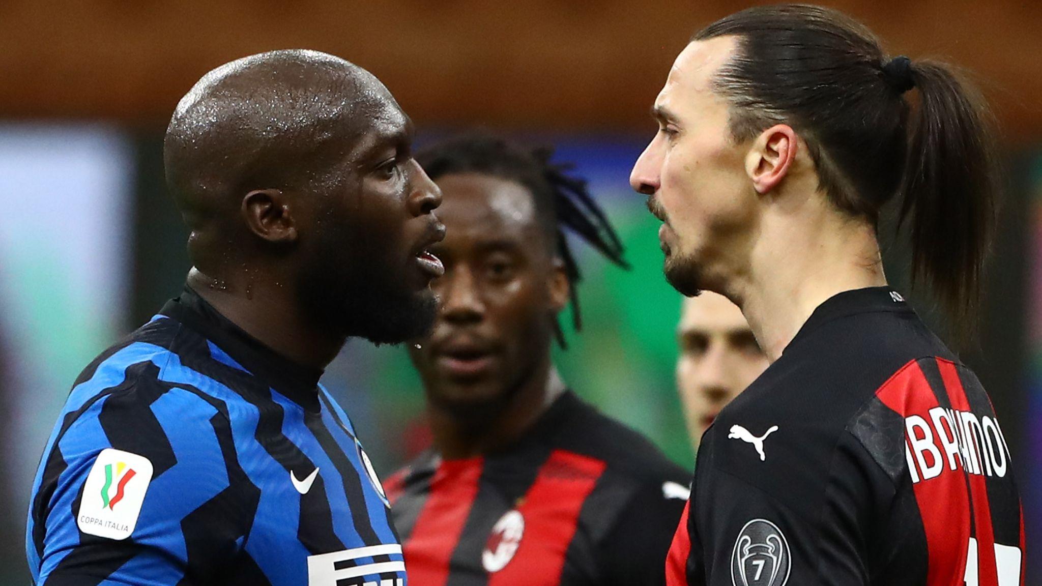 Ibrahimovic on his spat with Lukaku