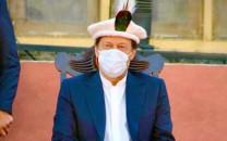 prime minister imran khan at a public gathering in gilgit baltistan photo instagram imrankhan pti