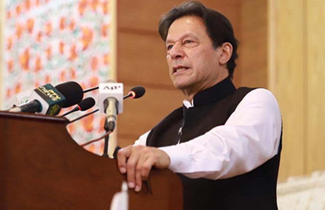 prime minister imran khan photo pti facebook page