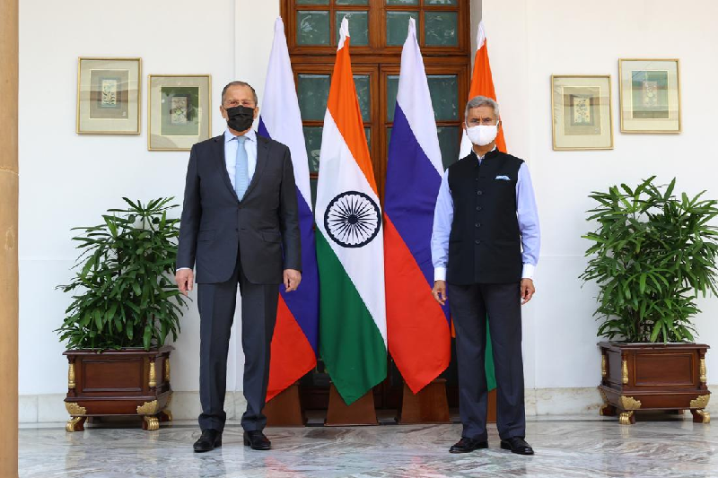 india s foreign minister subrahmanyam jaishankar with his russian counterpart sergei lavrov photo reuters