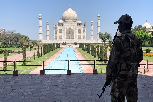 india to reopen taj mahal with social distancing masks
