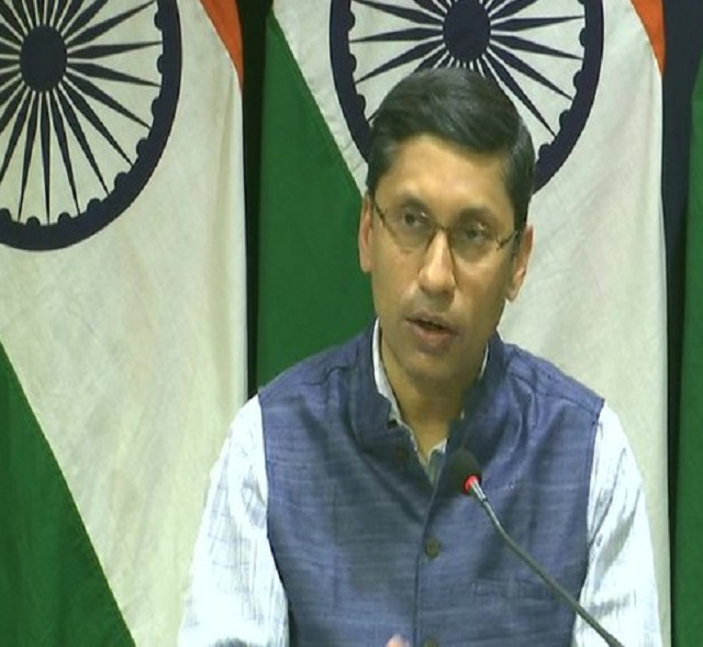 indian foreign ministry spokesperson arindam bagchi photo ani