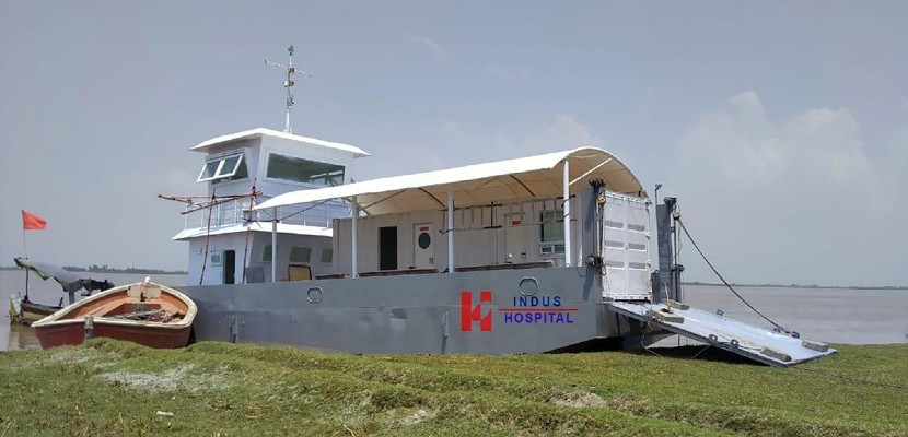 charity hospital to launch pakistan s first boat clinic