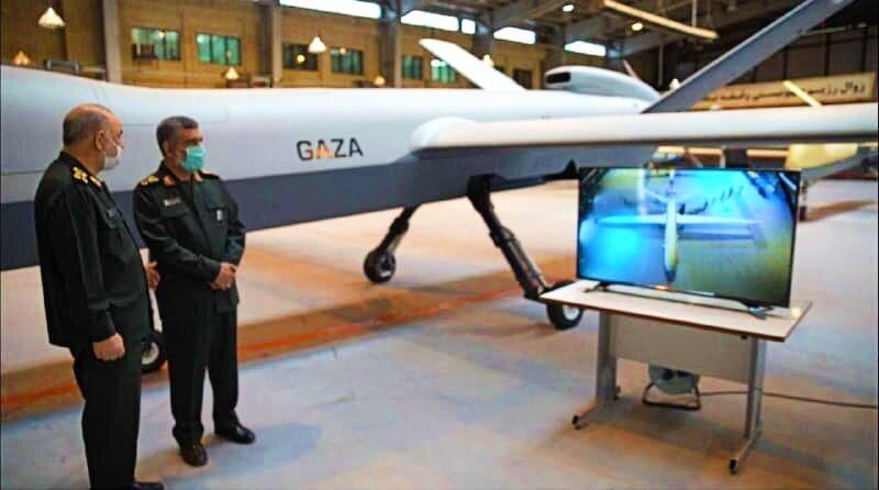 Iran Guards unveil 'Gaza' drone in tribute to Palestinians
