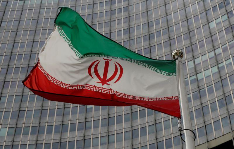 an iranian flag flutters in front of the international atomic energy agency iaea headquarters in vienna austria september 9 2019 photo reuters file