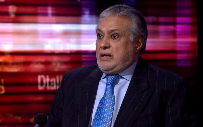 enjoyed intense conversation with ishaq dar says hardtalk host