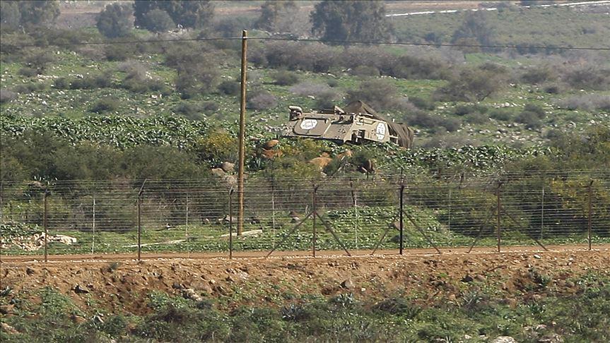 israel opens fire toward southern lebanese village
