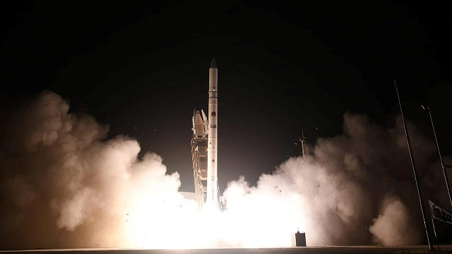 israel launches spy satellite to keep a better eye on enemies