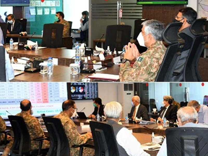 general qamar thanks japan s defence minister for offering assistance against locust threat photo ispr