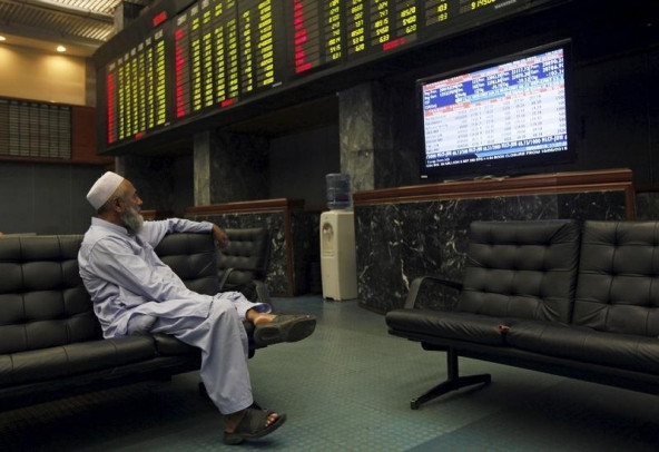 shares of 371 companies were traded at the end of the day 242 stocks closed higher photo reuters