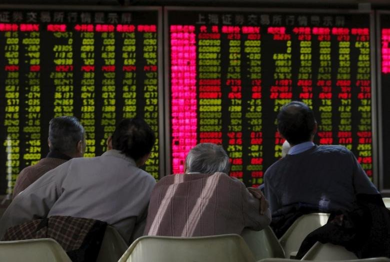 shares of 391 companies were traded at the end of the day 133 stocks closed higher photo reuters