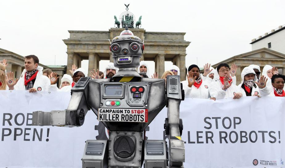killer robots now a grave threat to mankind
