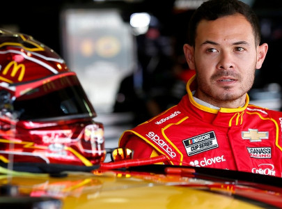 larson reinstated by nascar after racial slur