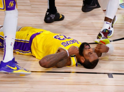 lebron savours winning time after lakers victory