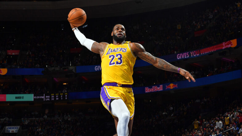 lebron signs two year 85 million extension with lakers