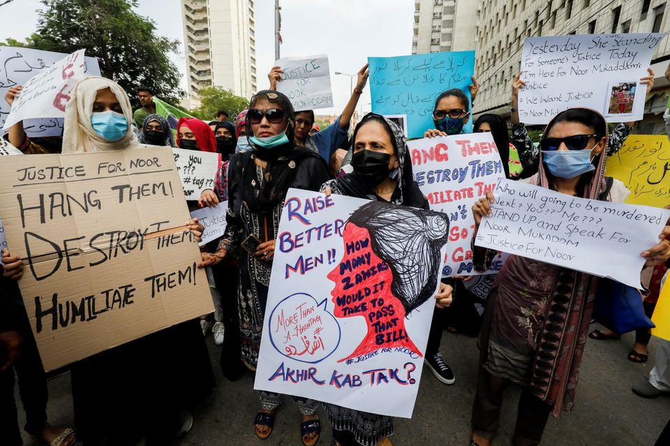 Grisly murder of Noor Mukadam sparks outrage over femicides