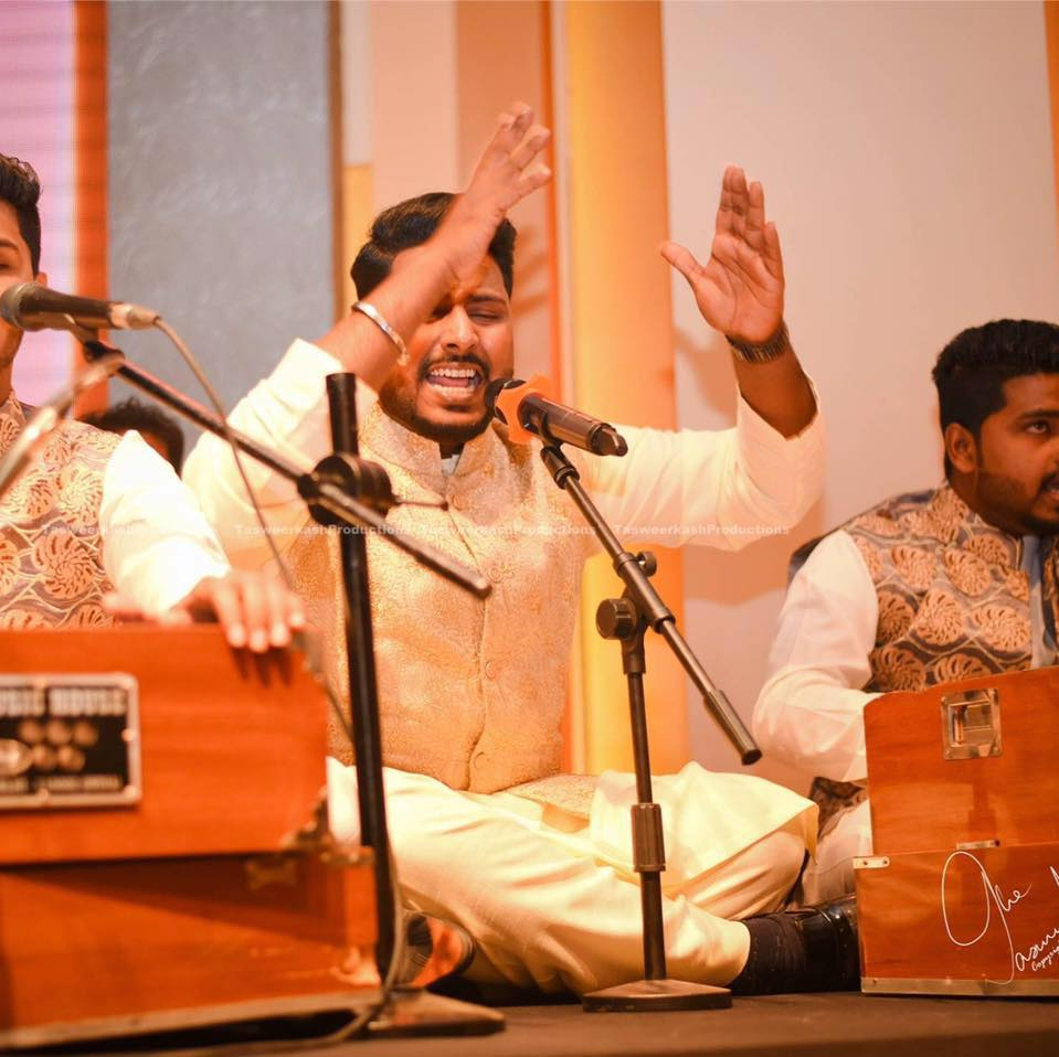 qawwal hamza akram accuses corporates of neglecting deserving artistes