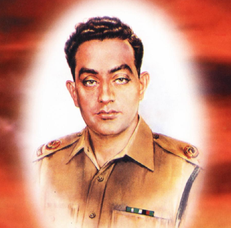 1965 war hero pakistan army pays homage to major aziz bhatti