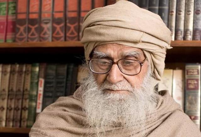 eminent islamic scholar and peace activist maulana wahiduddin khan photo anadolu agency file