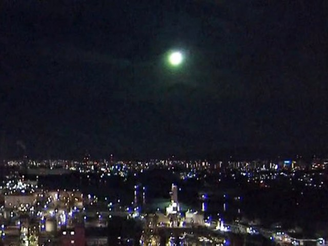 Fireball spotted! Meteor sighting lights up sky over Japan and social media