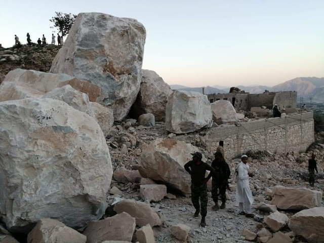 k p govt increases compensation for marble mine victims