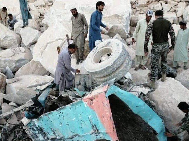 dozens were still trapped under the rubble as army troops were assisting the district administration in rescue mission photo express