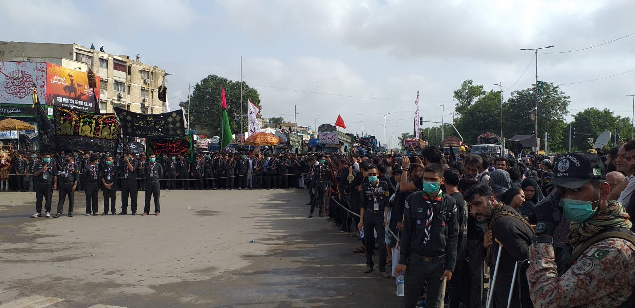 ashura processions conclude peacefully across country