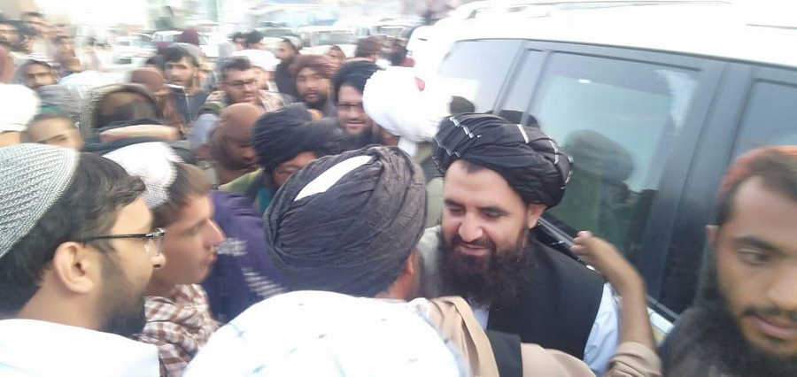 Newly appointed Afghan Intelligence Chief Mullah Abdul Wasiq. PHOTO: EXPRESS