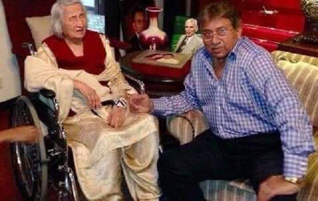 zareen musharraf was 100 years old photo express file