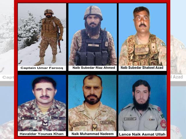 14 security personnel martyred in terrorist attack in Balochistan: ISPR