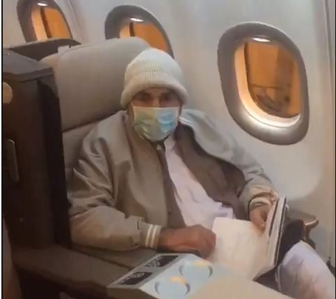 only one passenger from gujrat flew in pia chartered hi fly a330 from manchester to islamabad on jan 03 2021