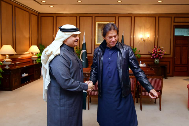 saudi envoy calls on pm imran reaffirms fraternal ties