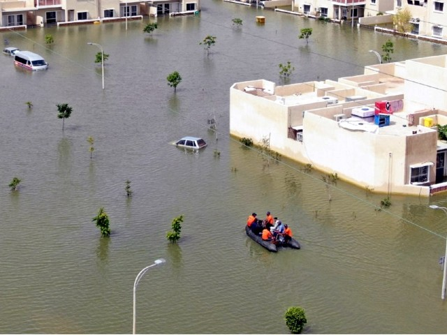 in pictures pakistan navy relief operation continues in karachi