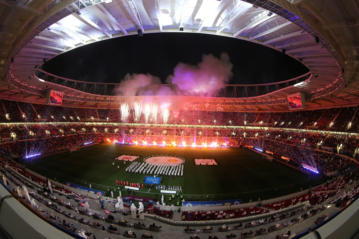 qatar unveils fourth stadium