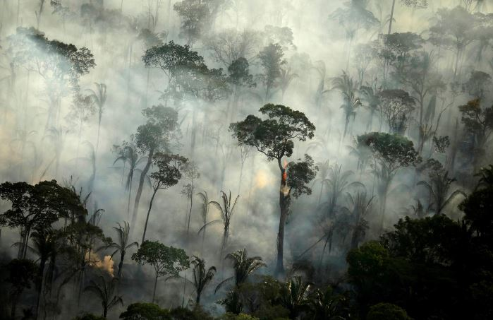 Fires are also worsening in the Pantanal, the world's largest wetlands, adjacent to the southern Amazon. PHOTO: REUTERS